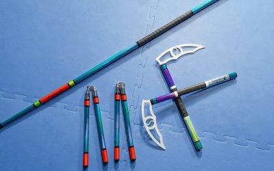 The Martial Arts Weapons I Use: Nunchucks, Bo Staff, Kamas